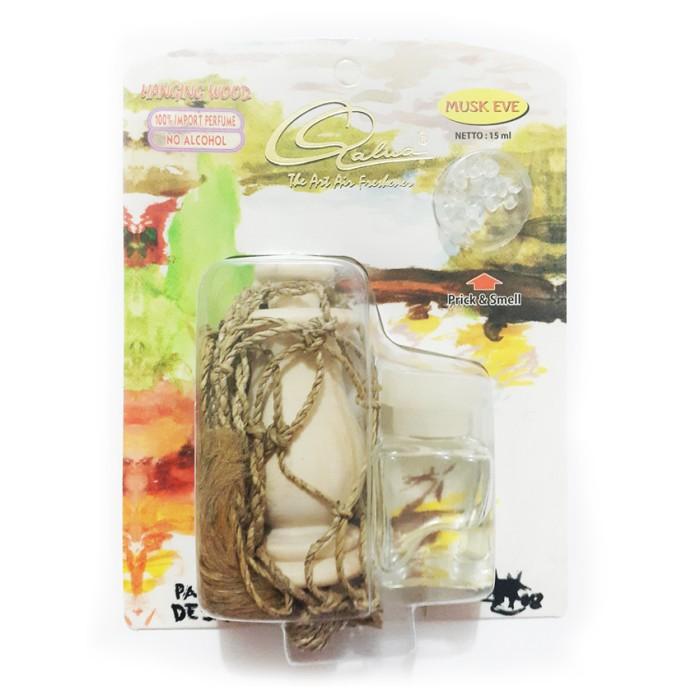 Foto Produk Qalua Hangging Wood - Musk Eve / parfum wadah botol kayu serba Berkual dari SunStore13