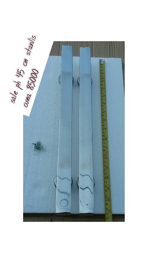 Pull handle 45 cm stanlis steeltarikan pintuperlngkpn pintu