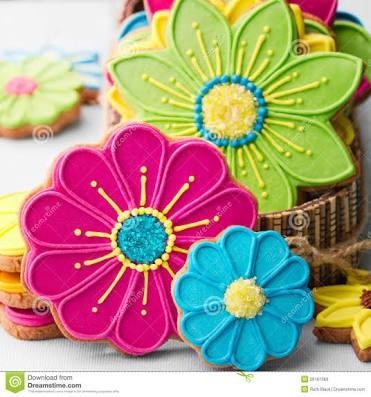 Cetakan nastar kue kering cookies flower bunga 6 piece ...