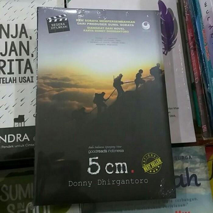 harga Novel 5 cm - donni Tokopedia.com