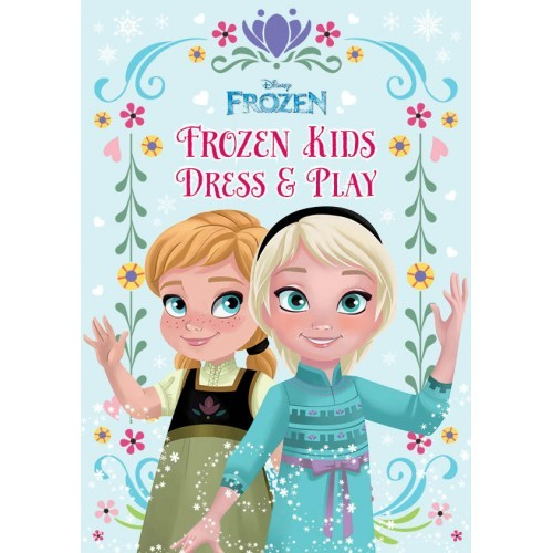 harga Disney frozen kids dress & play activity - buku anak mainan edukasi Tokopedia.com