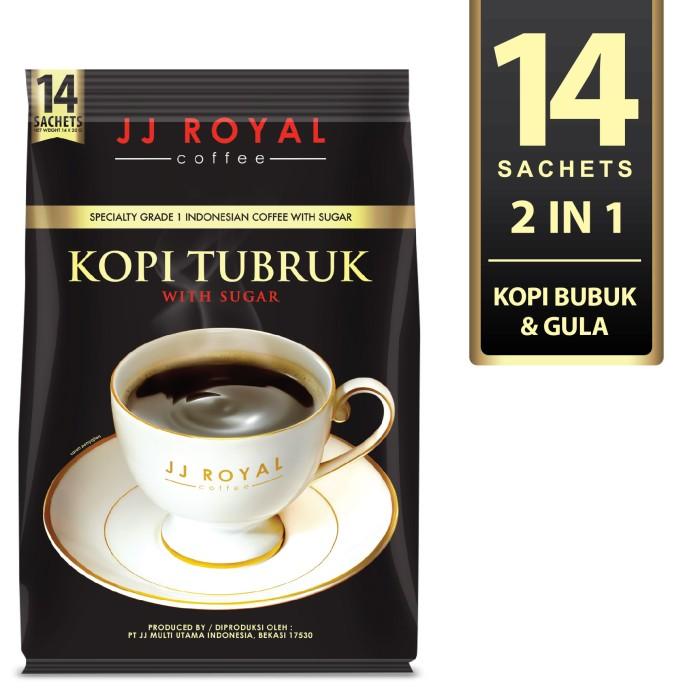 harga Coffee/kopi jj royal kopi tubruk with sugar bulk bag 14 sachets Tokopedia.com
