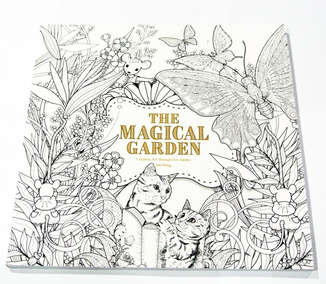 Jual The Magical Garden Coloring Book Jakarta Barat Winnercolors Tokopedia