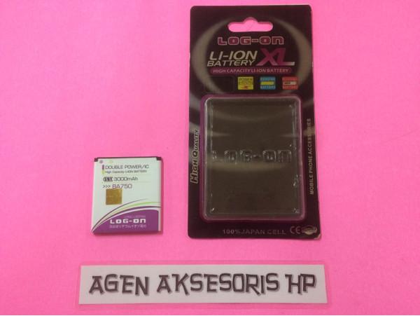 harga Batre ba750 sony xperia acro arc s x12 baterai log-on dp ic 3000mah Tokopedia.com