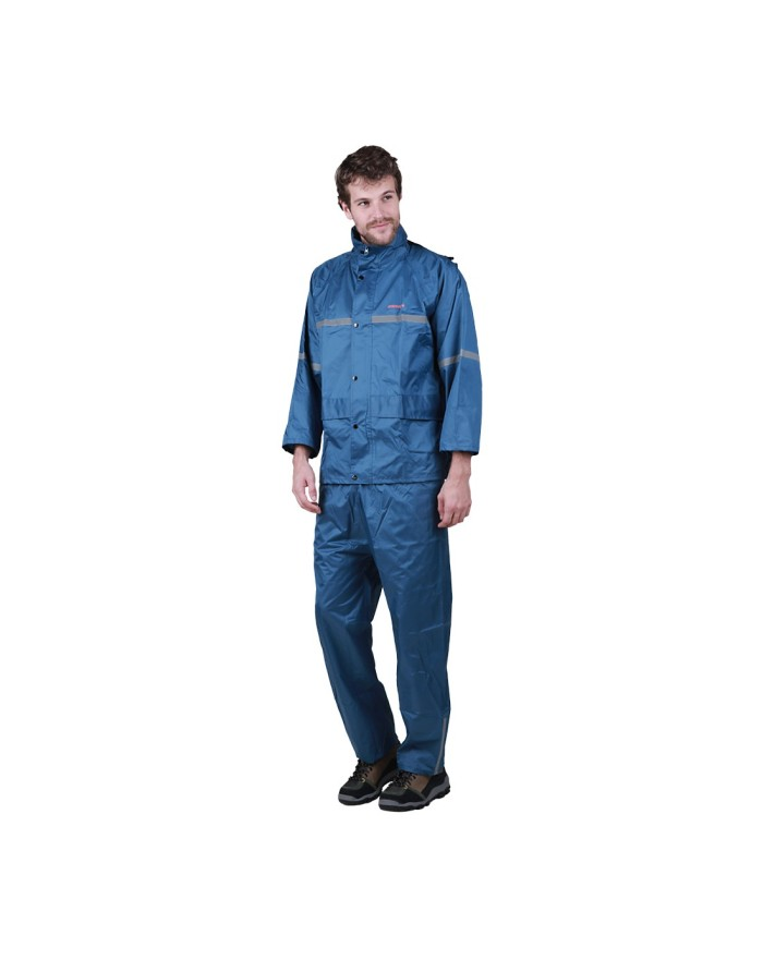 harga Jas hujan eiger jacket riding rexon rainsuit - biru Tokopedia.com