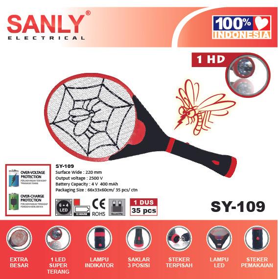 Foto Produk Raket Nyamuk Sanly 109 dari wilsonxu