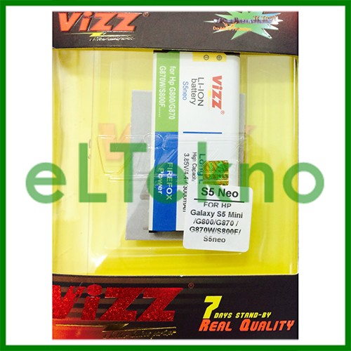 Baterai vizz samsung galaxy s5 neo mini g800 batre double power…