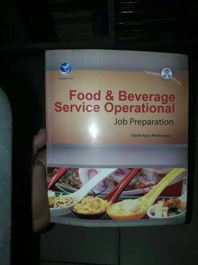 harga Food & beverage service operation job preparation Tokopedia.com