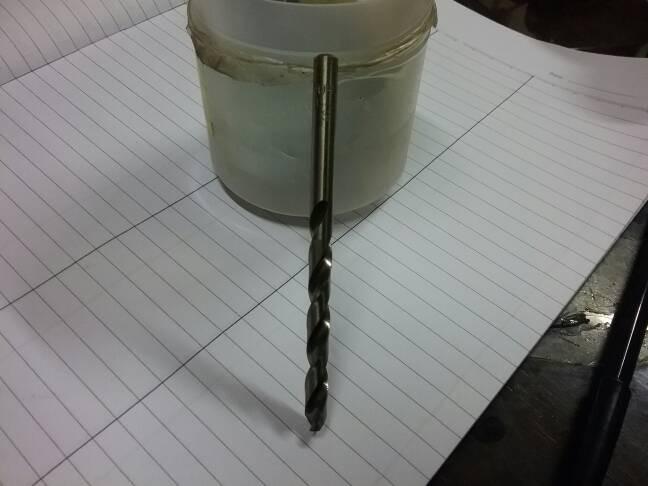 Mata bor stainless toho 6mm / mata bor hss-cobalt toho 6 mm