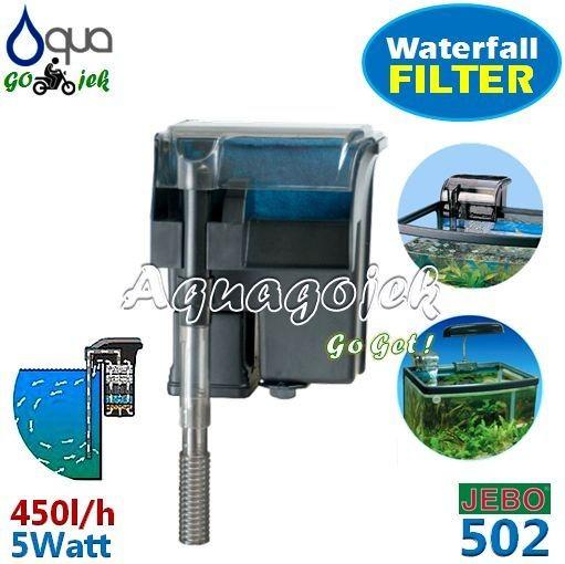 Jebo 502 aquarium aquascape hang-on filter