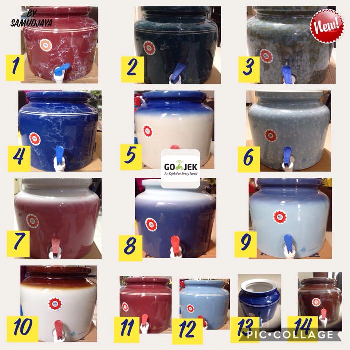 harga Guci keramik/guci galon/guci air/guci dispenser Tokopedia.com