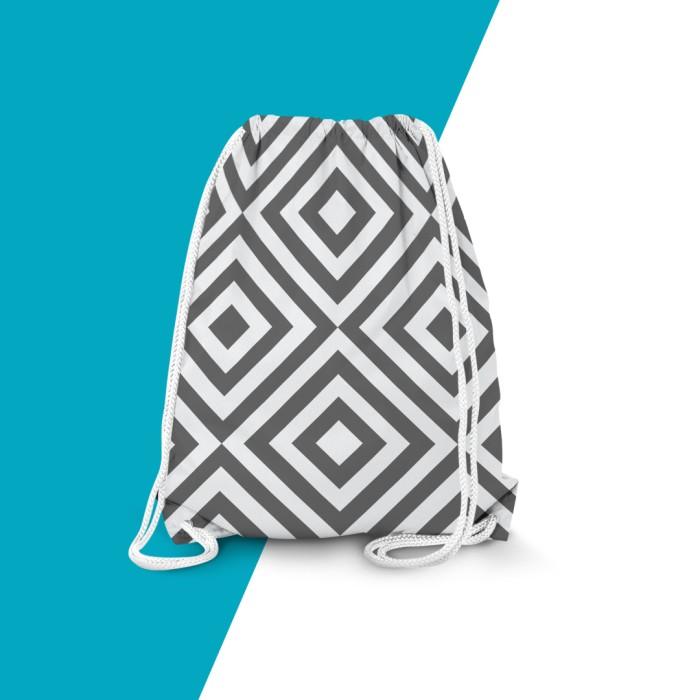 harga Tas Serut Drawsring Bag Geometric Wajik Tokopedia.com