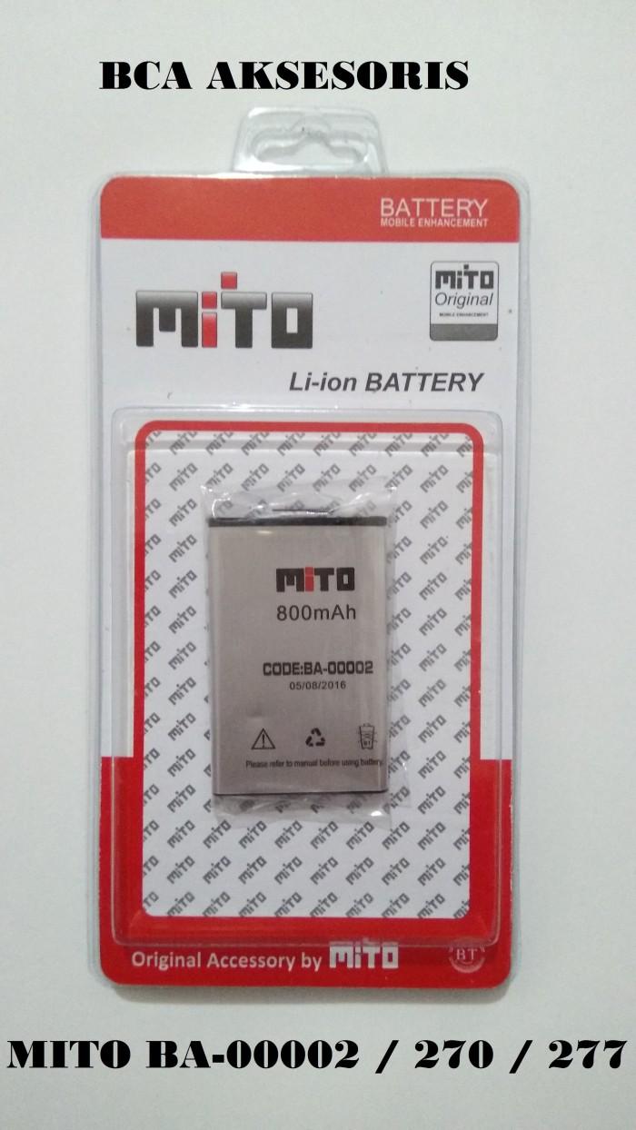 Battery batre baterai mito ba-00002 / 270 / 277 original