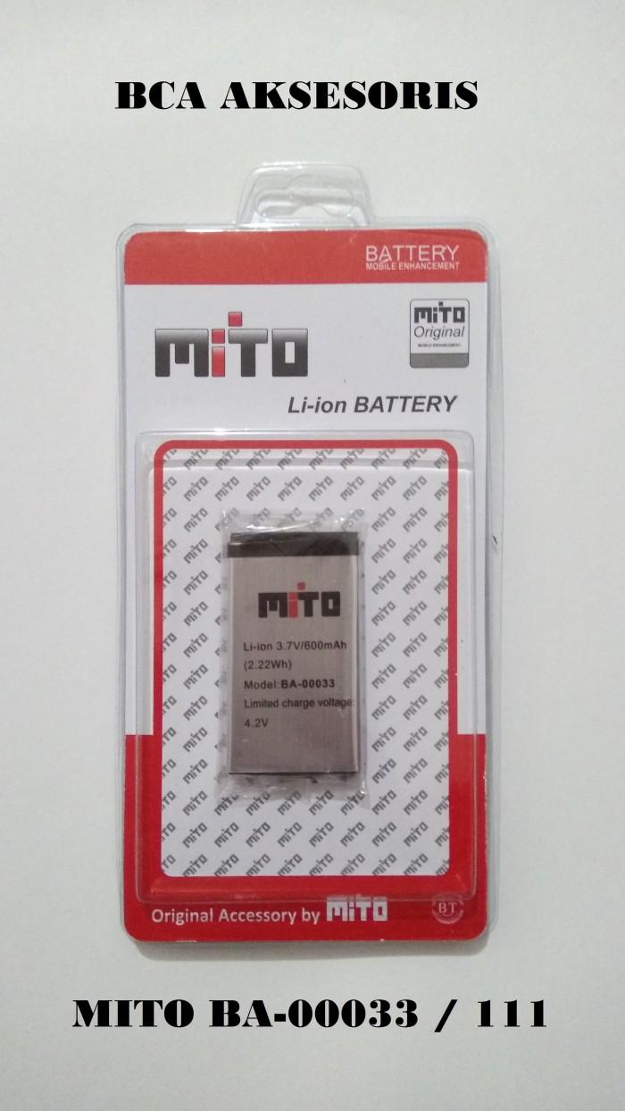 Battery batre baterai mito ba-00033 / 111 original