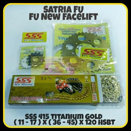 harga Girset sss suzuki satria fu/fu new facelift/sss t gold 415 120 hsbt Tokopedia.com