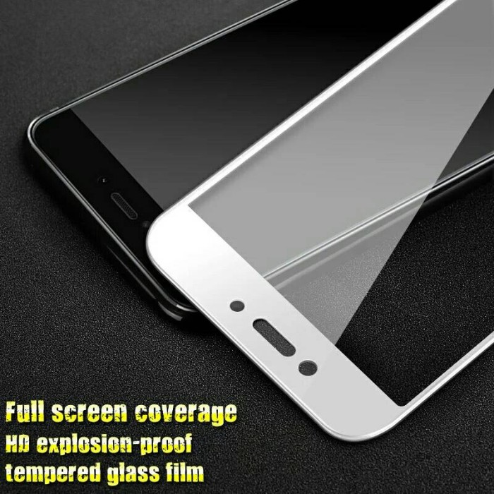 TEMPERED GLASS COLOR FILM FOR XIAOMI REDMI 4X ANTI GORES KACA WARNA .