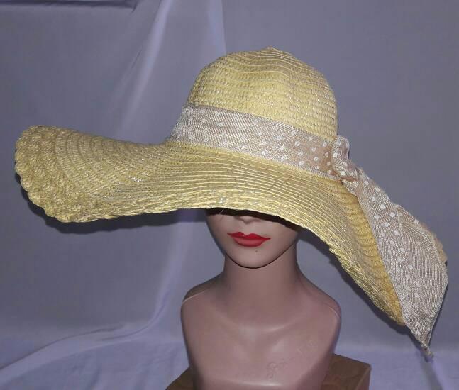Jual MURAH topi pantai floppy hat import anyaman lebar setengah ... 7a0e15b4a1