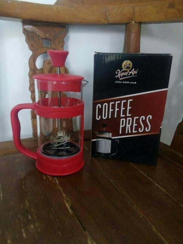 harga Coffe press kapal api / coffe pot good quality / gelas unik Tokopedia.com