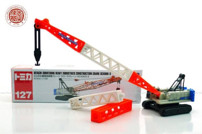 harga Tomica long 127 hitachi sumitomo heavy industries construction crane Tokopedia.com