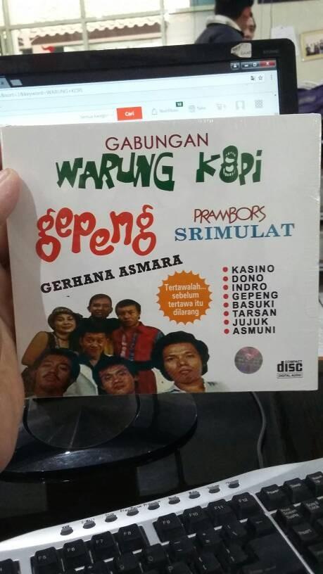 harga Cd original warung kopi - gepeng srimulat Tokopedia.com