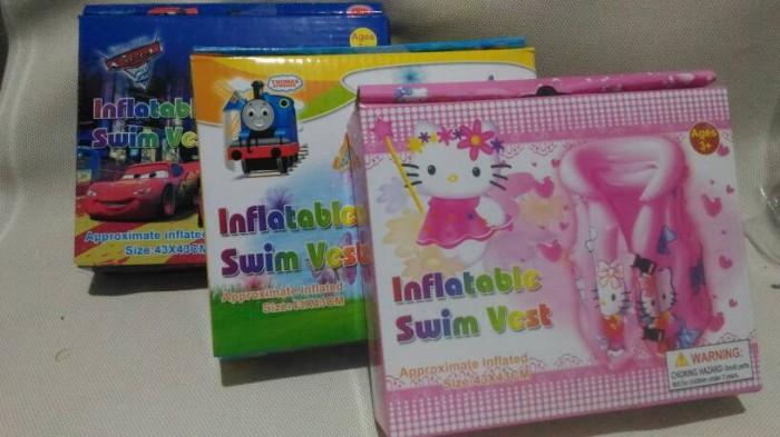 harga Rompi renang anak karakter hello kitty cars thomas baju swimfest Tokopedia.com