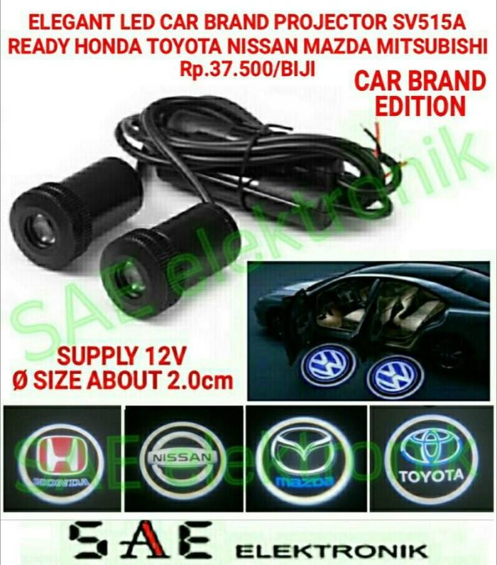 harga Sv515a elegant led car brand projector logo edisi mobil Tokopedia.com