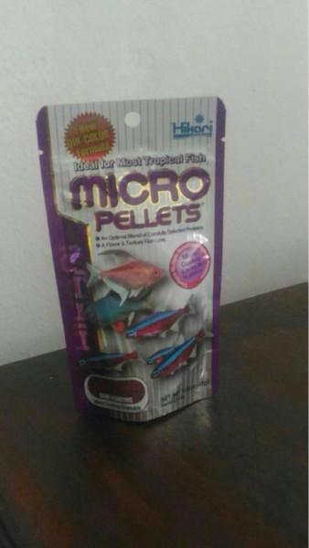 harga Aquarium makanan ikan hias hikari micro pellets 45 gr Tokopedia.com