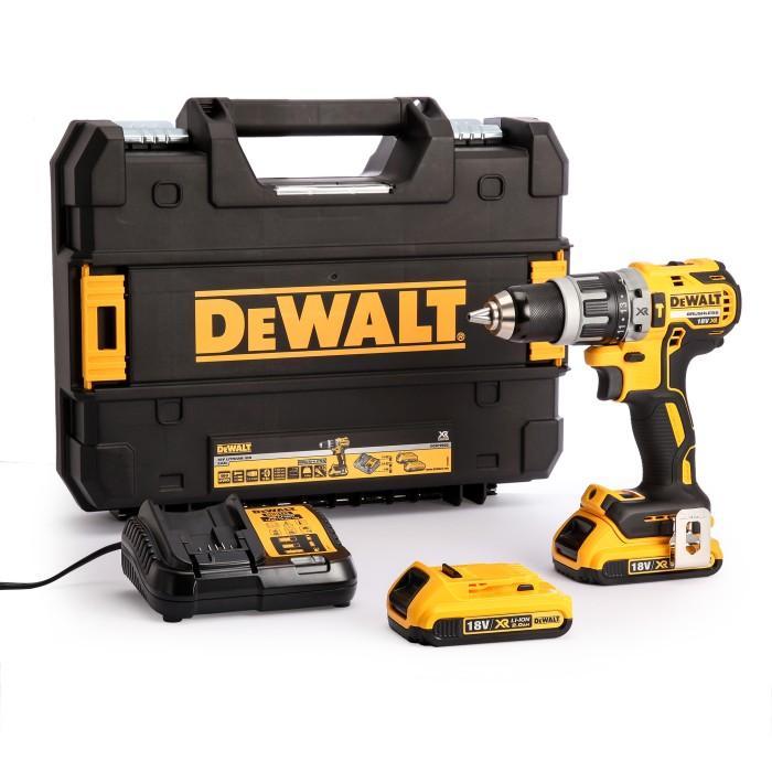 harga Dewalt dcd796d2 18 v xr brushless li-ion hammer drill driver Tokopedia.com