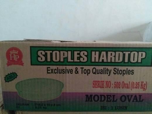 harga Toples hardtop 502 oval (250g) Tokopedia.com