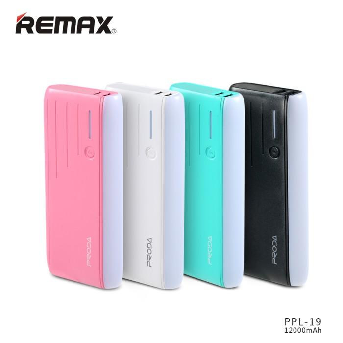 Remax Proda Power Bank 12000mah White