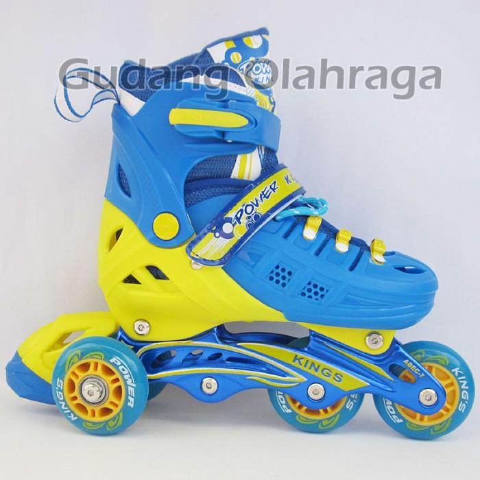 ... harga Sepatu roda bajaj ban karet anak dan dewasa   inline skate model  jahit Tokopedia. 19a58019c8