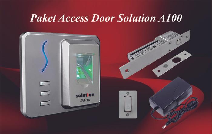 Paket pemasangan access pintu solution a100 + dropbolt series