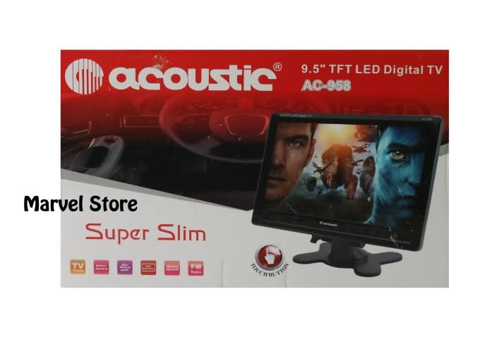 harga Tv ondash layar 9.5 inci bukan 9  acoustic Tokopedia.com