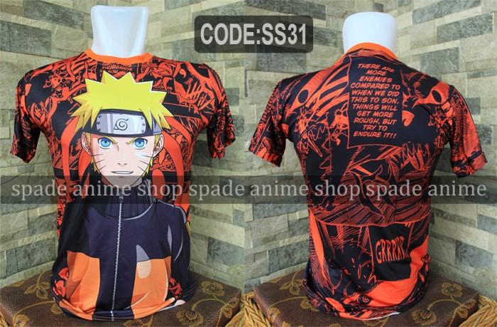 harga Kaos naruto shippudenkaos anime naruto (spade shop) Tokopedia.com