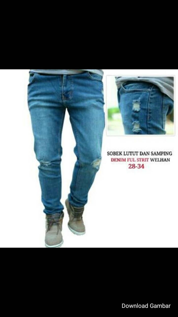 Jual Jeans Sobek Kota Bandung DEEF Market