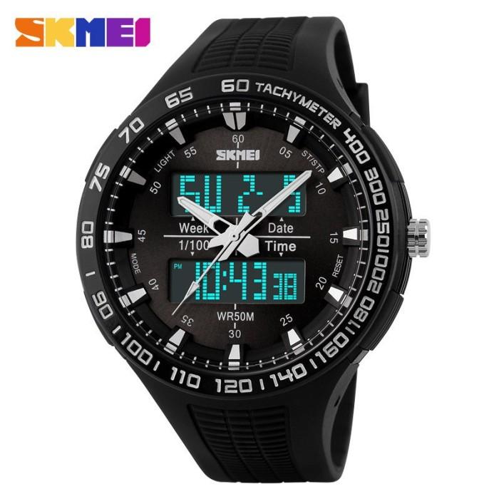 Foto Produk Jam Tangan Pria / SKMEI Casio Men / Digital LED + Analog / 1066 dari Watch Me Collection