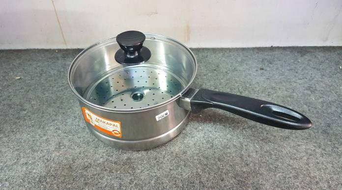 harga Panci sauce pan - panci kukus steamer - panci susu makapal 20 cm Tokopedia.com