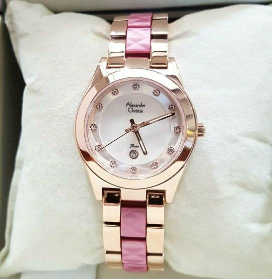 Jual Jam Tangan Alexandre Christie Wanita Ac 2477ld Rose Gold Pink Original Jakarta Pusat Griya Watches Tokopedia