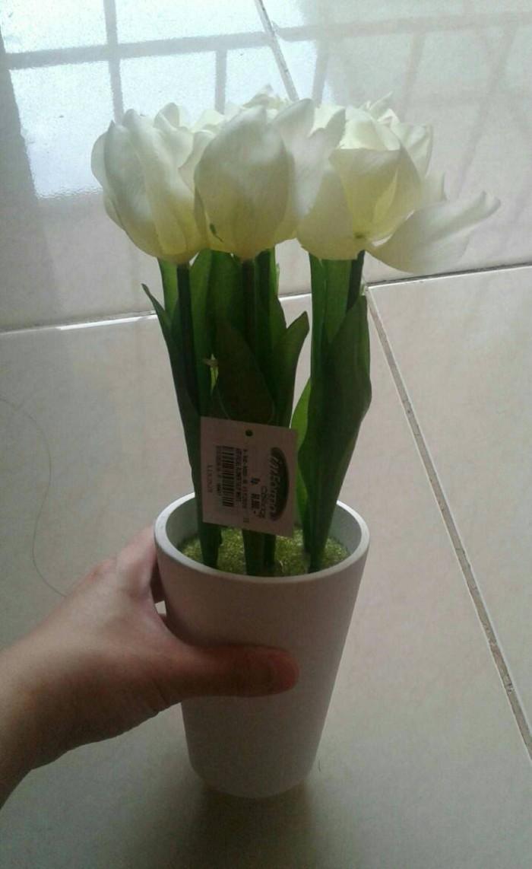 Jual BUNGA TULIP PLASTIK include pot 1pc BY ACE HARDWARE - IKEA ONE ... a0d43ca0fb