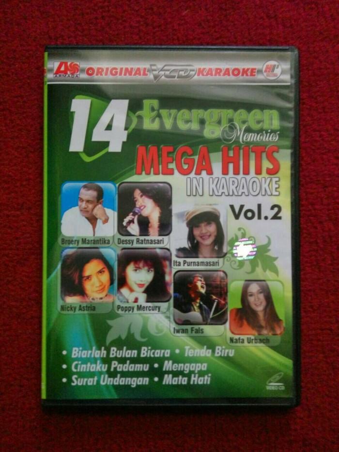 harga Vcd karaoke 14 evergreen mega hits v2 Tokopedia.com
