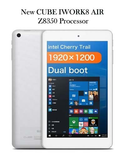 harga Tablet cube iwork8 air pro x5 z8350 dual os win10 + android 5.1 Tokopedia.com