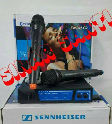 harga Mic sennheiser ew 945 g2 ( wireless microphone ) Tokopedia.com