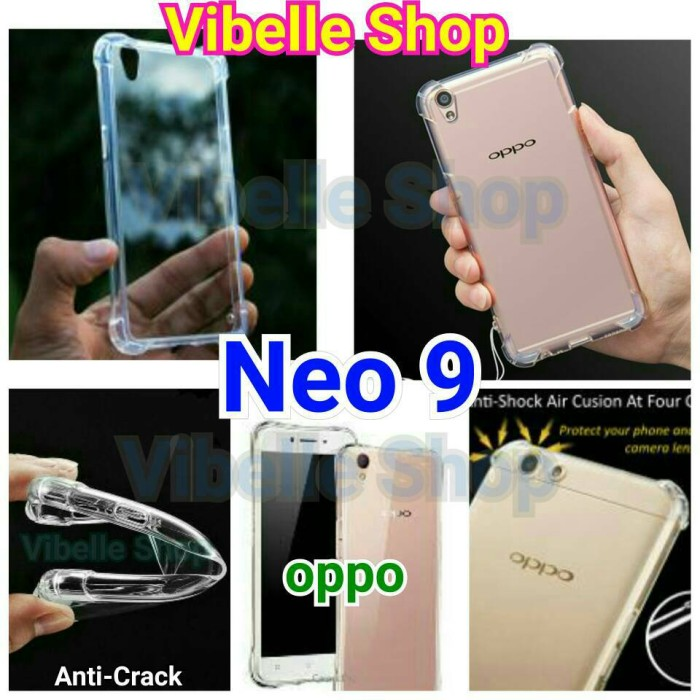 Softcase AntiCrack OPPO Neo 9 A37 Anti Crack Soft Jely Shock Case Neo9