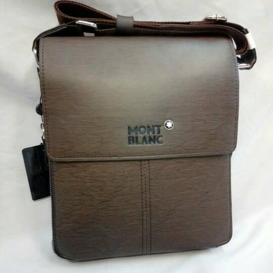 harga Tas selempang kulit montblanc tas kantor pria Tokopedia.com