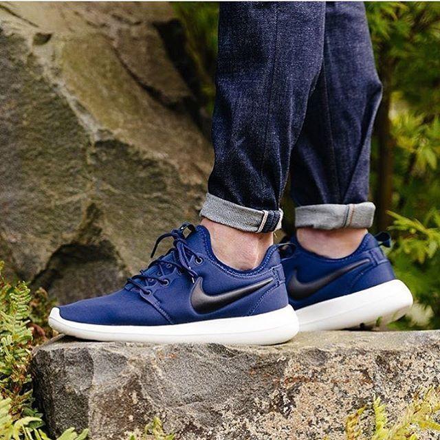 7ce724f6cfc6 Jual Sepatu Nike Roshe Two Navy PREMIUM BNIB Rosherun - DKI Jakarta ...
