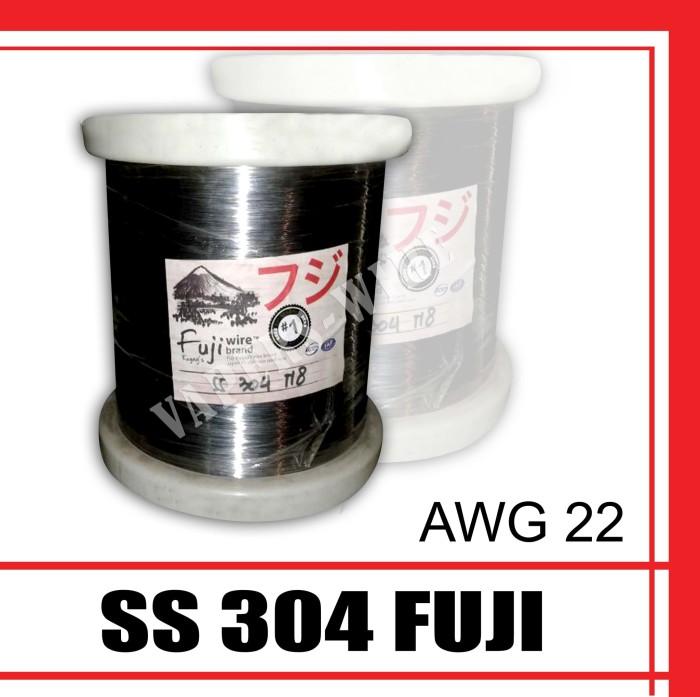 Kawat SS 304 AWG 22 Brand Fuji Japan