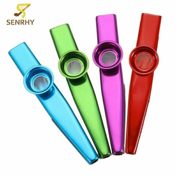 harga Top selling 12.5*2cm kazoo aluminum alloy metal flute Tokopedia.com