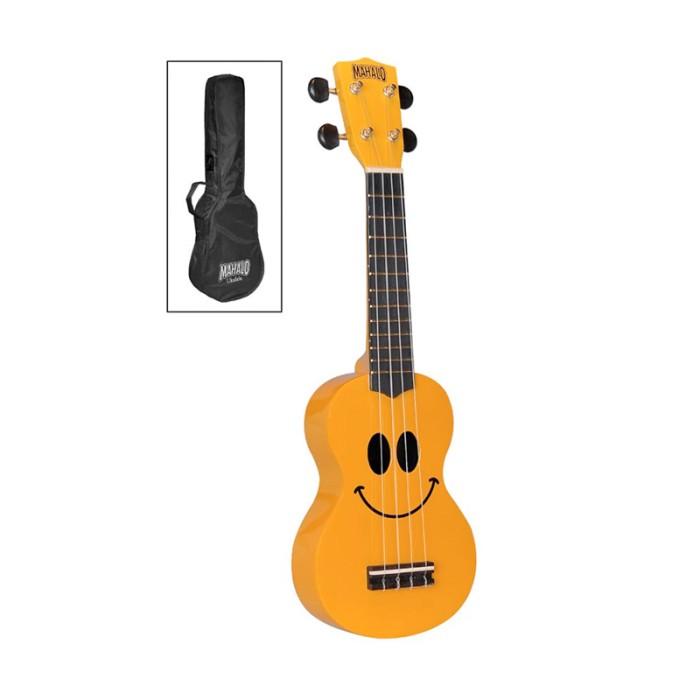 harga Mahalo art ukulele smiley face yellow u-smile-yw-817000024 Tokopedia.com