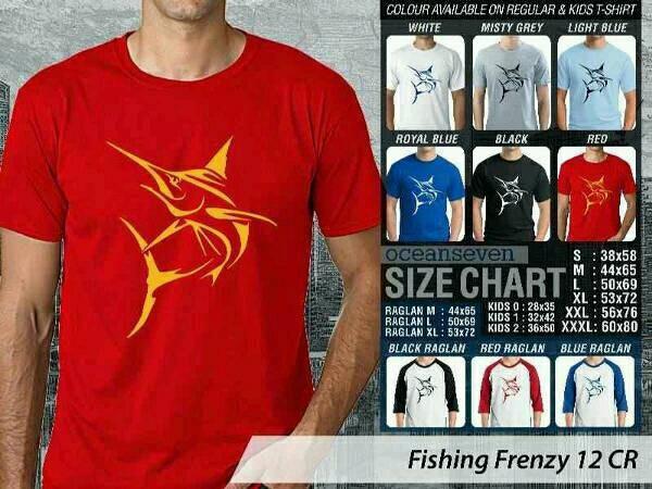 kaos/baju/t-shirt fishing mancing mania