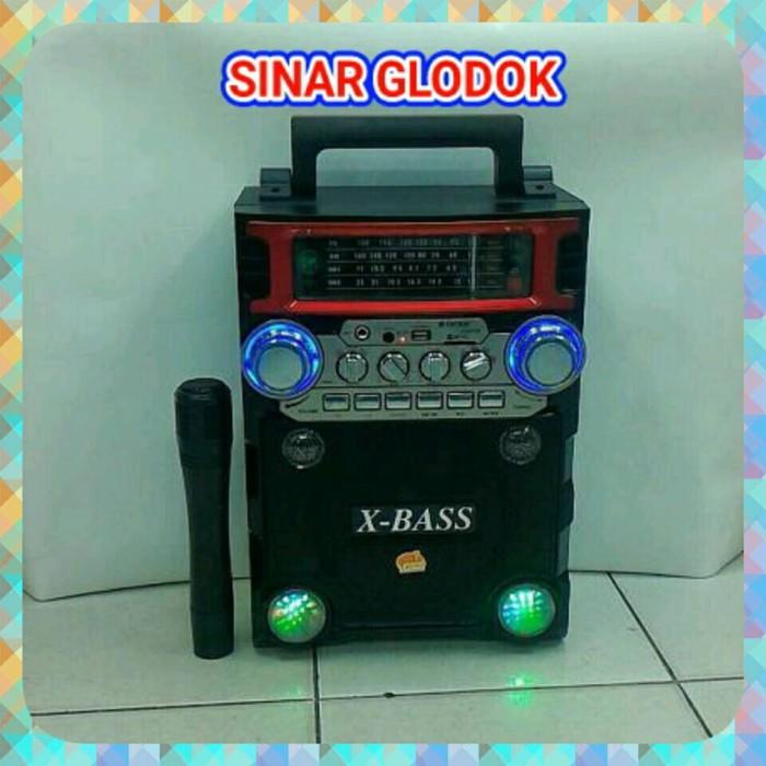 harga Portable meeting asatron r-999 ukm x bass sport usb-sd card- radio fm Tokopedia.com